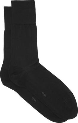 Falke - Tiago City Cotton Blend Socks - Mens - Black