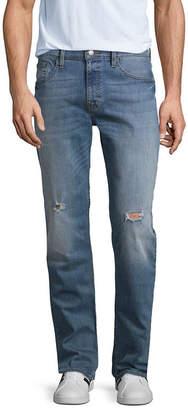 Arizona Mens Low Rise Stretch Slim Fit Jean