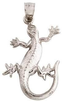 Charm 14K Lizard