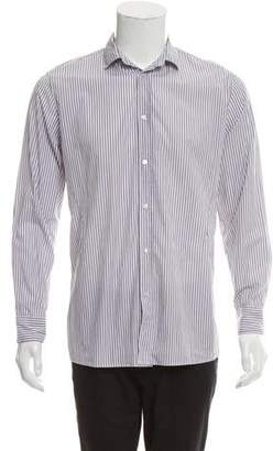 Bottega Veneta Striped Button-Up Shirt