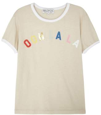 Wildfox Couture Ooh La La Printed Jersey T-shirt