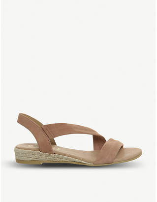 Office Heidi espadrille suede sandals