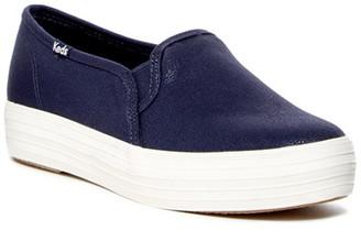 Keds Triple Decker Platform Sneaker $55 thestylecure.com