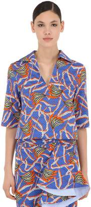 Stella Jean Printed Cotton Shirt