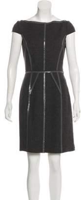 Prada Sleeveless Virgin Wool Dress Grey Sleeveless Virgin Wool Dress
