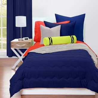 Crayola Navy and Timberwolf Reversible Comforter