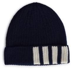 Thom Browne Ribbed Cashmere Beanie