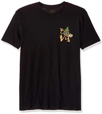 RVCA Young Men's Rvcaloha Pineapple Vintage Wash Tee Shirt,S