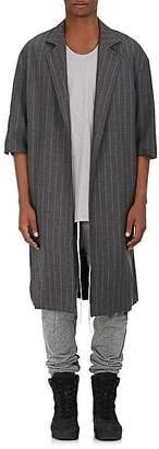 Fear Of God Men's Striped Wool Twill Topcoat