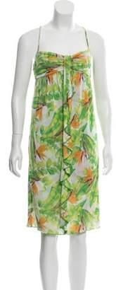 Diane von Furstenberg Silk Ruffle Dress Silk Ruffle Dress