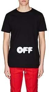 Off-White Men's Cotton Jersey T-Shirt - Black