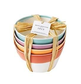 Royal Doulton 1815 Set Of 4 Cereal Bowls