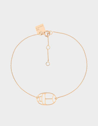 ginette_ny Wish 18-karat rose gold bracelet