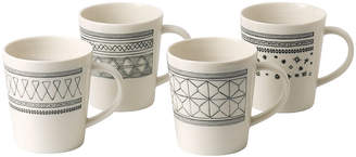 Royal Doulton Ellen DeGeneres Charcoal Grey Mugs