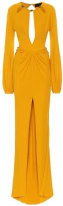 Dundas Embellished crepe-jersey gown