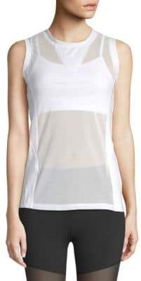 Electric Yoga Sleeveless Mesh Top
