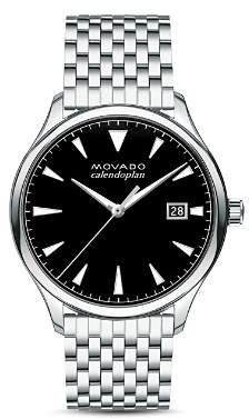 Movado Heritage Series Calendoplan Watch, 40mm