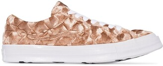 Converse X GOLF Le FLEUR One Star velvet sneakers