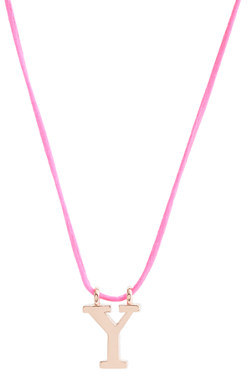 J.Crew Girls' letter necklace