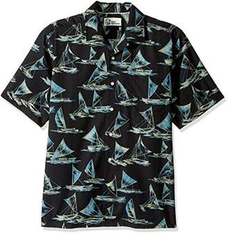 Reyn Spooner Men's Cotton Classic Fit Button Front Hawaiian Shirt
