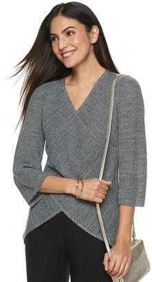 Apt. 9 Women's Surplice Sweater