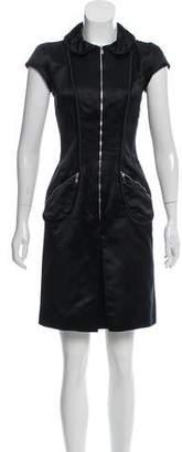 Louis Vuitton Silk Sheath Dress