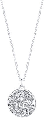 DISNEY Disney Princess Silver Over Brass Pendant Necklace $19.99 thestylecure.com