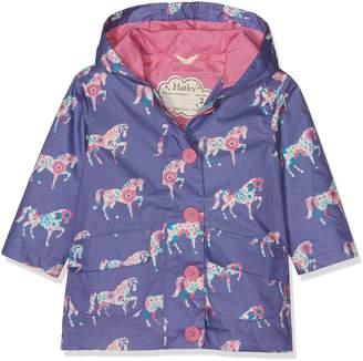 Hatley Big Girls' Cotton Coated Raincoats