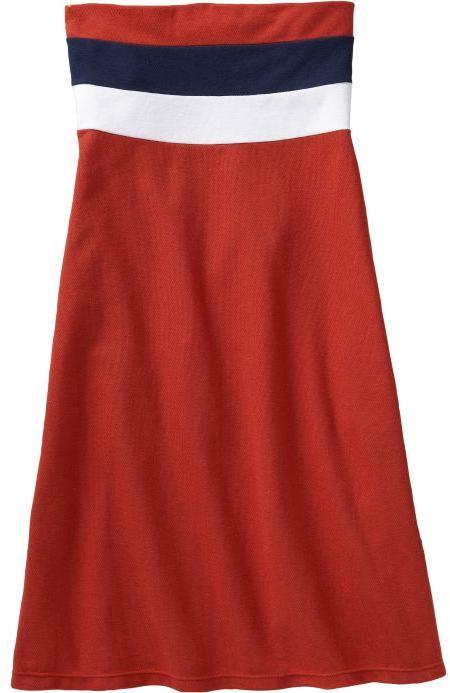Women's Pique Tube Dresses