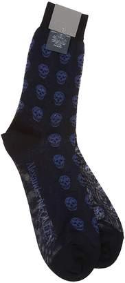Alexander McQueen Skull Patterned Socks