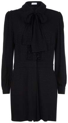 Claudie Pierlot Josy Ruffle Playsuit