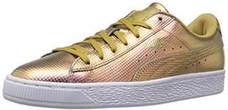 Puma Men's Basket Classic Holographic Fashion Sneaker