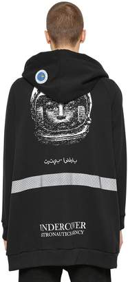Undercover Print & Patch Cotton Sweatshirt Hoodie