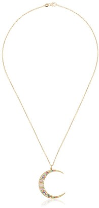 Andrea Fohrman large Luna multi-stone necklace