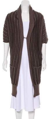 Alice + Olivia Merino Wool Asymmetrical Cardigan