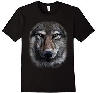 T-Shirt - Stern Looking Timber Wolf Bust