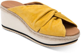 Andre Assous Prune Wedge Sandals