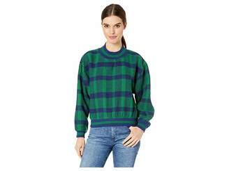 J.o.a. Plaid Pullover Top