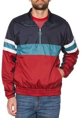 Original Penguin Colorblock Striped Cagoule Jacket