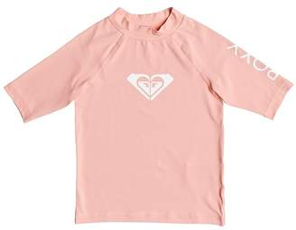 Roxy Toddler Girls Whole Hearted Short Sleeve Rashie