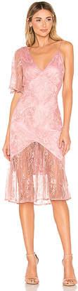 Lovers + Friends Elora Midi Dress
