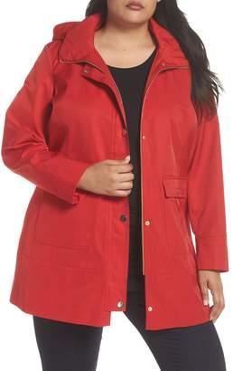 Kristen Blake Hooded Rain Jacket