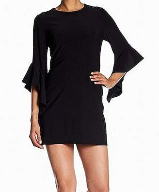 Laundry by Shelli Segal Women's Flutter Sleeve Knit Shift Dress
