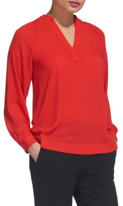 Whistles Catalina V-Neck Top