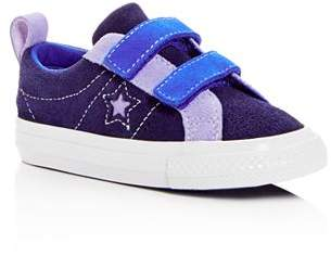 Converse Unisex Chuck Taylor All Star Color-Block Suede Sneakers - Walker, Toddler, Little Kid, Big Kid
