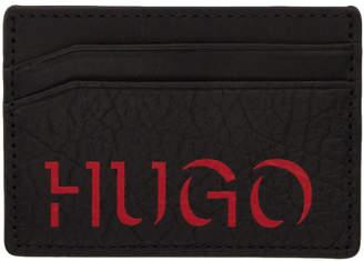 HUGO Black Victorian Card Holder