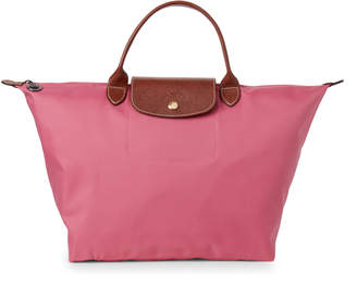 Longchamp Peony Le Pliage Medium Top Handle Bag