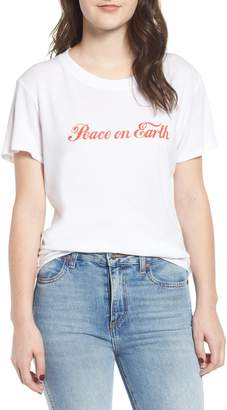 Sub Urban Riot Sub_Urban Riot Peace on Earth Slouched Tee