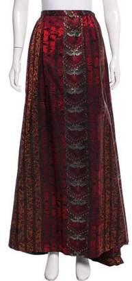Christian Lacroix Floral Pattern Maxi Skirt