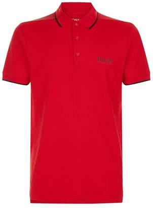 BOSS GREEN Pixelated Logo Polo Shirt